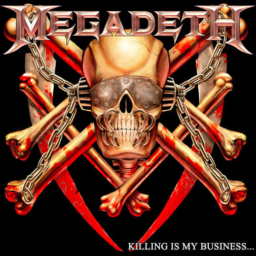 Megadeth Killing Is My Business CD [Import] - Almaraz Records | Tienda de Discos y Películas