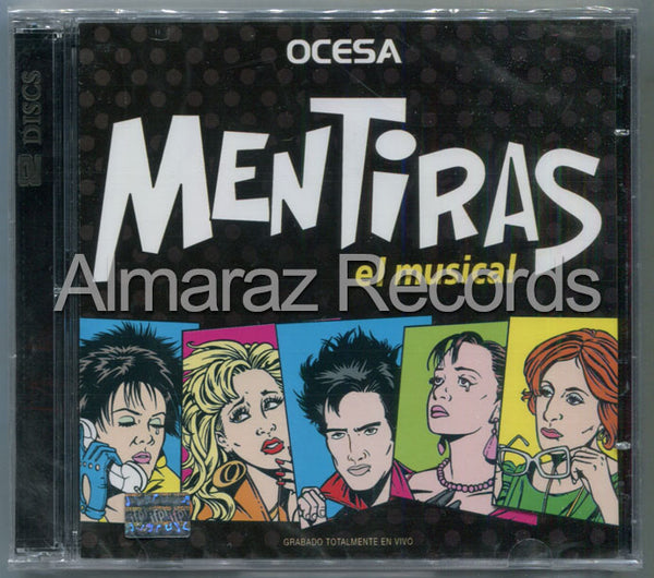 Mentiras El Musical CD
