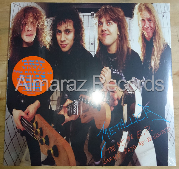 Metallica 5.98 Orange Vinyl EP - Garage Days Re-Revisited