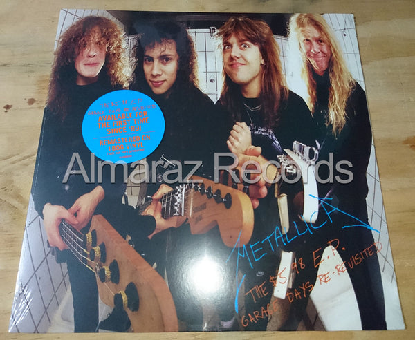 Metallica 5.98 Vinyl EP - Garage Days Re-Revisited