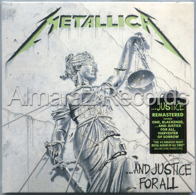 Metallica And Justice For All Remastered 3CD