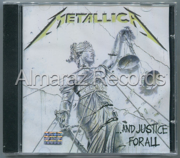 Metallica And Justice For All Edition CD - Almaraz Records | Tienda de Discos y Películas  - 1