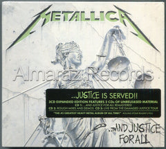 Metallica And Justice For All Remastered CD