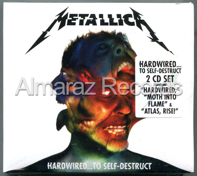 Metallica Hardwired... To Self-Destruct 2CD - Almaraz Records | Tienda de Discos y Películas  - 1