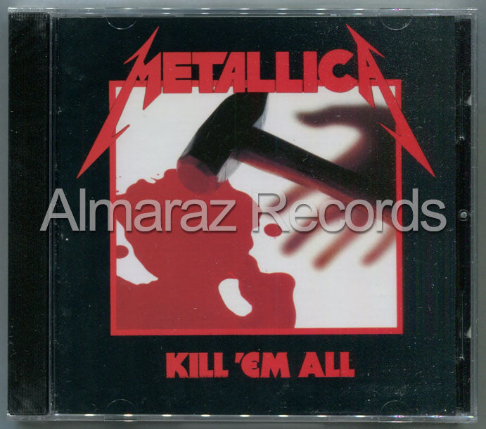 Metallica Kill'Em All CD - Almaraz Records | Tienda de Discos y Películas  - 1