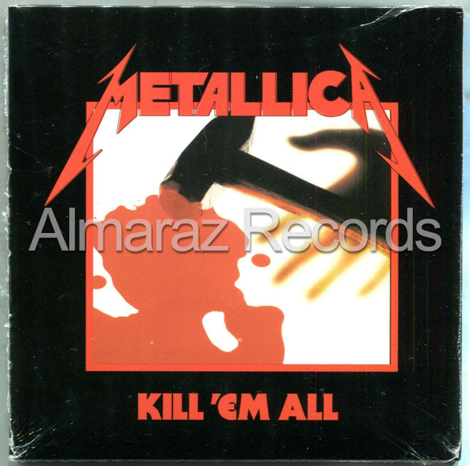 Metallica Kill 'Em All CD - Remastered 2016 - Almaraz Records | Tienda de Discos y Películas  - 1