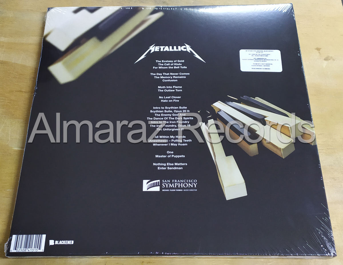 Metallica S&M2 Vinyl LP Set