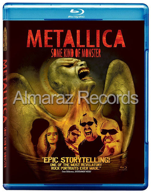 Metallica Some Kind Of Monster Blu-Ray+DVD [Import] - Almaraz Records | Tienda de Discos y Películas