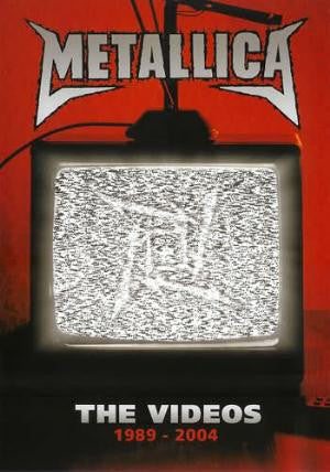 Metallica The Videos 1989-2004 DVD - Almaraz Records | Tienda de Discos y Películas