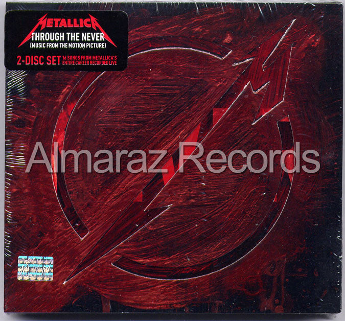 Metallica Through The Never Deluxe 2CD - Almaraz Records | Tienda de Discos y Películas  - 1