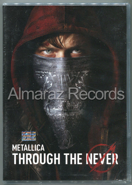 Metallica Through The Never 2DVD - Almaraz Records | Tienda de Discos y Películas  - 1