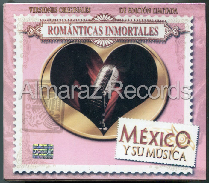 Mexico Y Su Musica Romanticas Inmortales 3CD