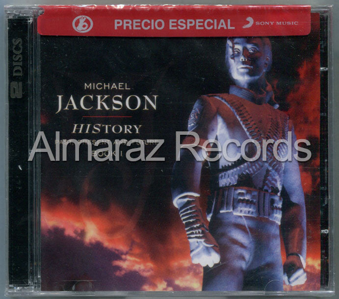 Michael Jackson History Past Present And Future 2CD - Almaraz Records | Tienda de Discos y Películas  - 1