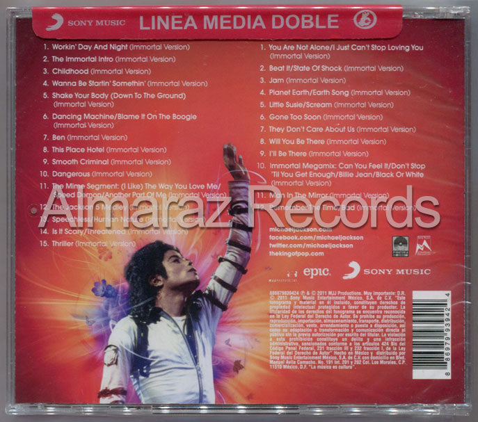 Michael Jackson Immortal Deluxe 2CD