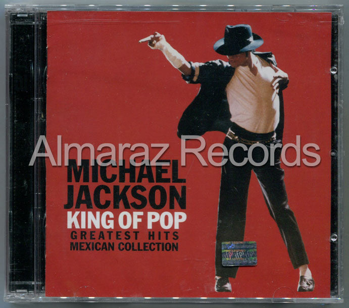 Michael Jackson King Of Pop Greatest Hits Mexican Collection 2CD - Almaraz Records | Tienda de Discos y Películas  - 1