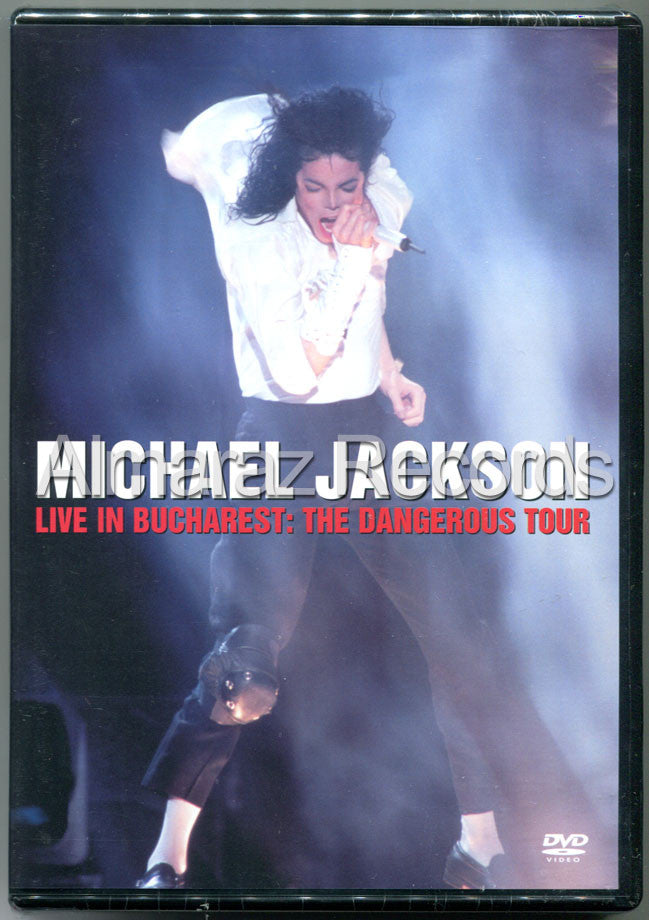 Michael Jackson Live In Bucharest Dangerous Tour DVD - Almaraz Records | Tienda de Discos y Películas  - 1
