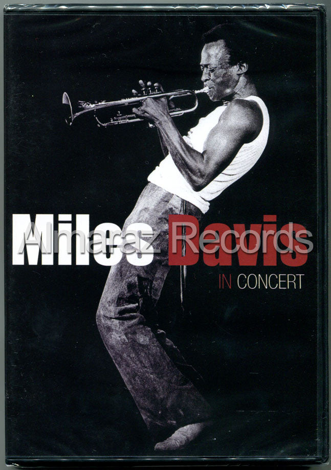 Miles Davis In Concert DVD - We Want Miles Tour Varsovia 1983 - Almaraz Records | Tienda de Discos y Películas  - 1