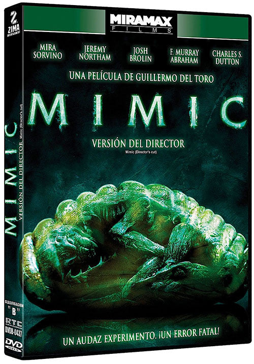 Mimic Version Del Director DVD - Almaraz Records | Tienda de Discos y Películas