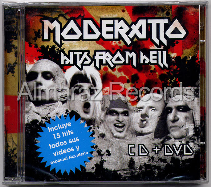Moderatto Hits From Hell CD+DVD - Almaraz Records | Tienda de Discos y Películas  - 1