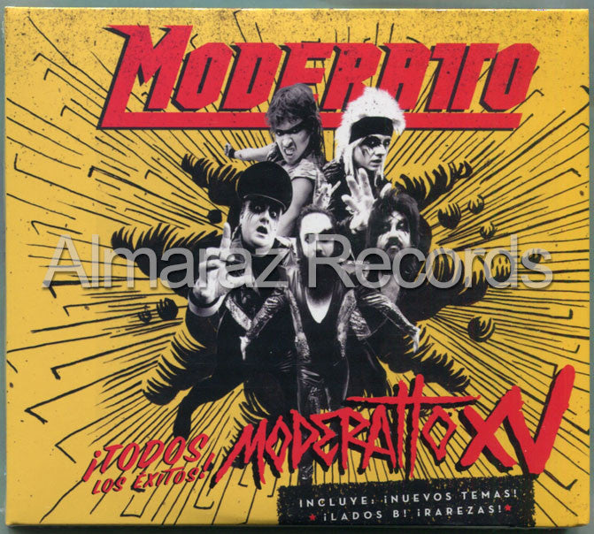Moderatto Moderatto XV 2CD+DVD