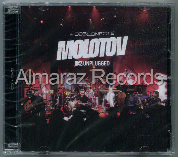 Molotov MTV Unplugged El Desconecte CD+DVD