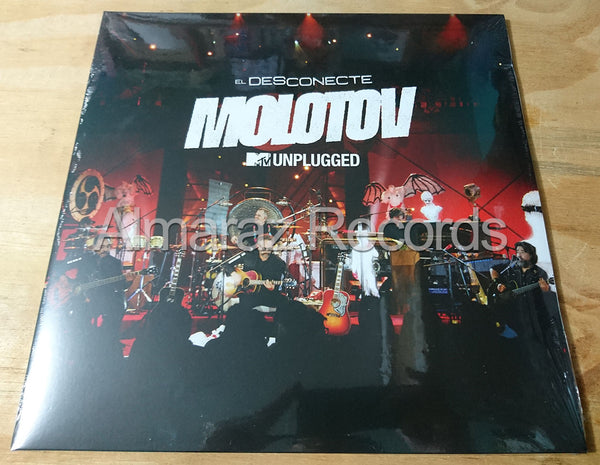 Molotov MTV Unplugged El Desconecte Vinyl LP
