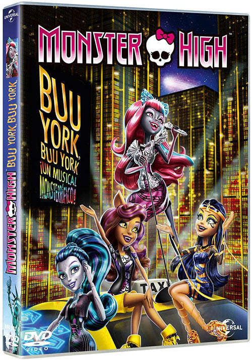 Monster High Buu York Buu York Un Musical Monsterrifico DVD - Almaraz Records | Tienda de Discos y Películas