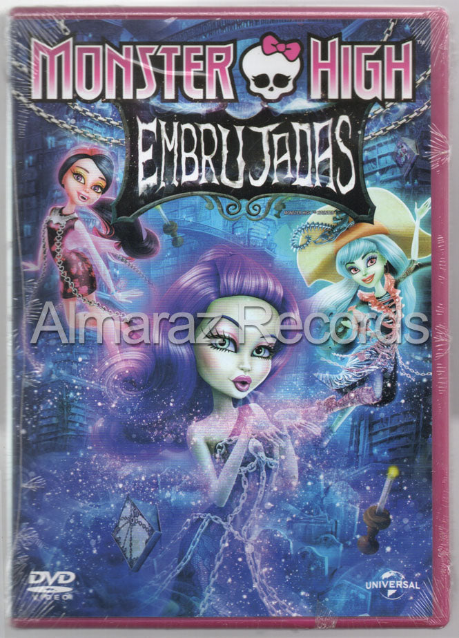 Monster High Embrujadas DVD