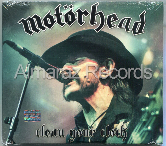 Motorhead Clean Your Clock CD+DVD - Almaraz Records | Tienda de Discos y Películas  - 1