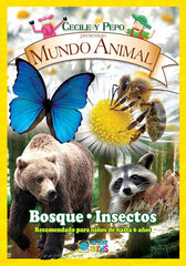 Mundo Animal - Bosque / Insectos DVD