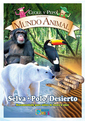 Mundo Animal - Selva / Polo Desierto DVD