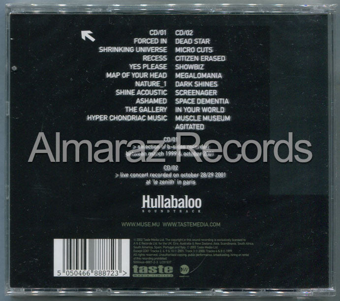 Muse Hullabaloo Soundtrack 2CD [Import] - Almaraz Records | Tienda de Discos y Películas  - 2