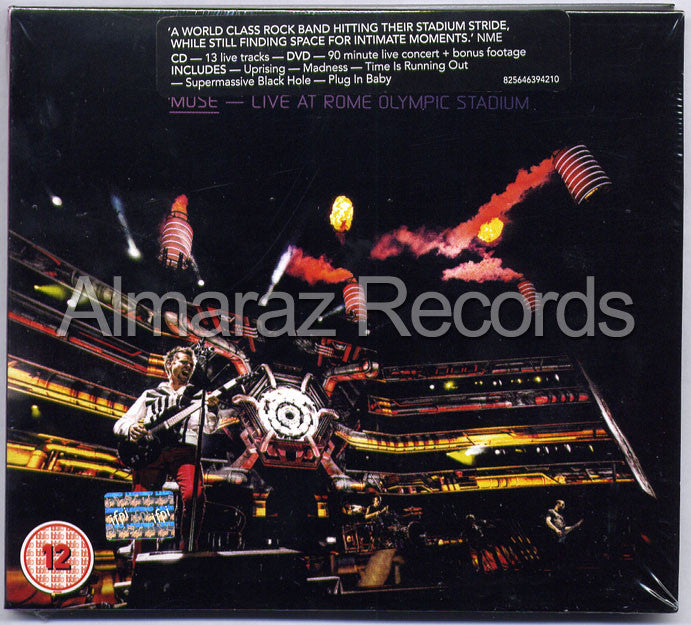 Muse Live At Rome Olympic Stadium CD+DVD - Almaraz Records | Tienda de Discos y Películas  - 1