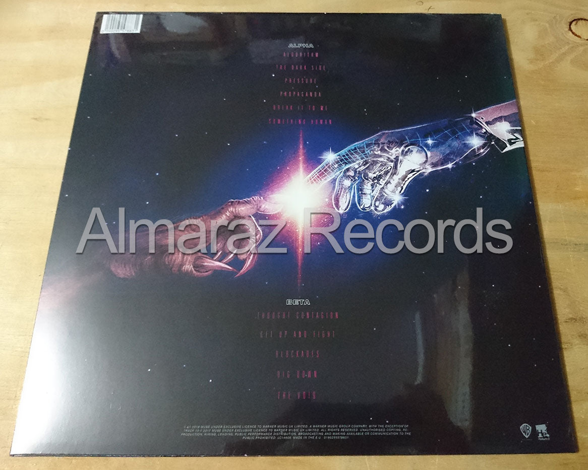Muse Simulation Theory Vinyl LP