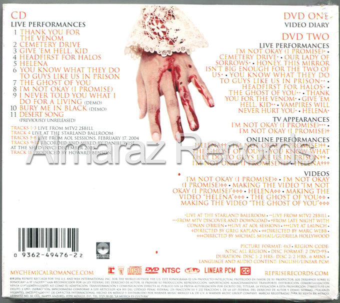 My Chemical Romance Life On The Murder Scene CD - Almaraz Records | Tienda de Discos y Películas  - 2