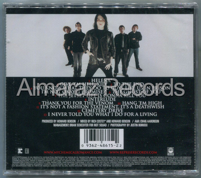 My Chemical Romance Three Cheers For Sweet Revenge CD - Almaraz Records | Tienda de Discos y Películas  - 2