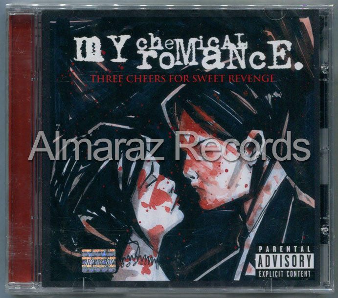 My Chemical Romance Three Cheers For Sweet Revenge CD - Almaraz Records | Tienda de Discos y Películas  - 1