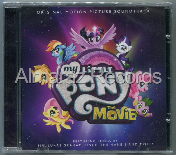 My Little Pony The Movie CD