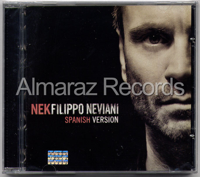 Nek Filippo Neviani Spanish Version CD - Almaraz Records | Tienda de Discos y Películas  - 1