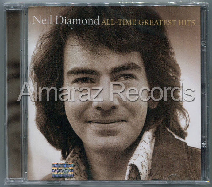 Neil Diamond All-Time Greatest Hits CD - Almaraz Records | Tienda de Discos y Películas  - 1
