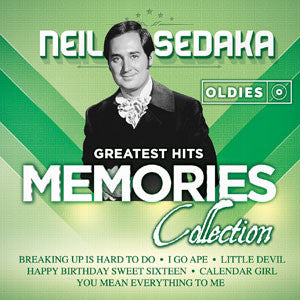 Neil Sedaka Greatest Hits Oldies Memories Collection CD - Almaraz Records | Tienda de Discos y Películas