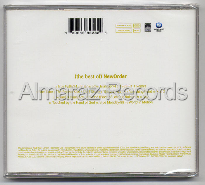 New Order The Best Of New Order CD - Almaraz Records | Tienda de Discos y Películas  - 2