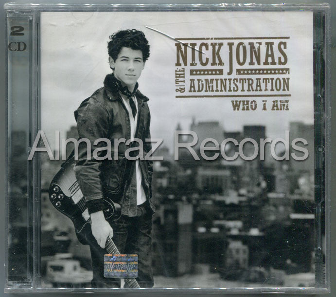 Nick Jonas Who I Am CD+DVD