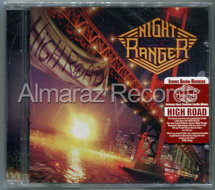 Night Ranger High Road CD - Almaraz Records | Tienda de Discos y Películas  - 1