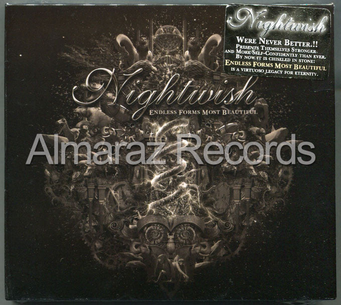 Nightwish Endless Forms Most Beautiful 2CD - Almaraz Records | Tienda de Discos y Películas  - 1