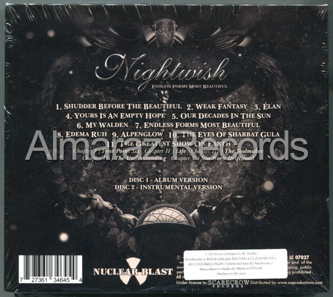 Nightwish Endless Forms Most Beautiful 3CD - Almaraz Records | Tienda de Discos y Películas  - 2
