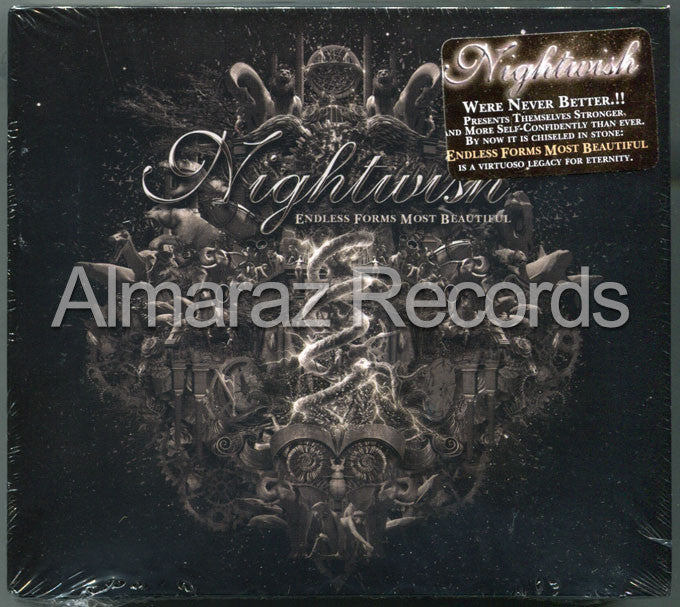 Nightwish Endless Forms Most Beautiful 3CD - Almaraz Records | Tienda de Discos y Películas  - 1