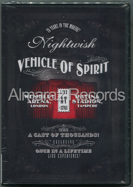 Nightwish Vehicle Of Spirit 3DVD