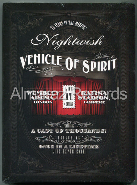Nightwish Vehicle Of Spirit 3DVD+2CD