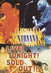 Nirvana Live! Tonight! Sold Out!! DVD - Almaraz Records | Tienda de Discos y Películas